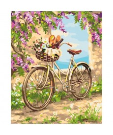 Картина по номерам Деревенское утро 40 х 50 см (KHO2207)