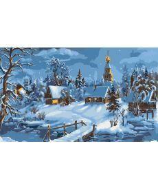 Картина по номерам Зимняя сказка 40 х 50 см (KHO2213)