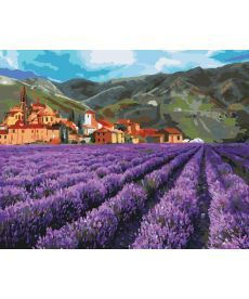 Картина по номерам Поля Прованса 40 х 50 см (KHO2216)