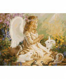 Картина по номерам Ангел 40 х 50 см (KHO2306)