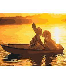 Картина по номерам Первая любовь 40 х 50 см (KHO2322)