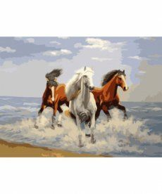 Картина по номерам Свежий ветер 40 х 50 см (KHO2430)