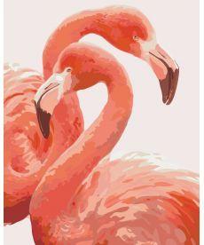 Картина по номерам Грация фламинго 40 х 50 см (KHO2446)