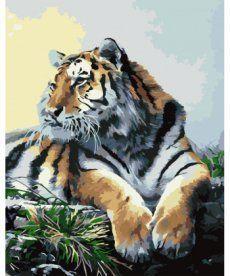 Картина по номерам Тигр 40 х 50 см (KHO2460)