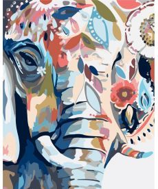 Картина по номерам Восточные краски 40 х 50 см (KHO2470)