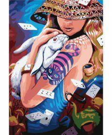 Картина по номерам Алиса 35 х 50 см (KHO2646)