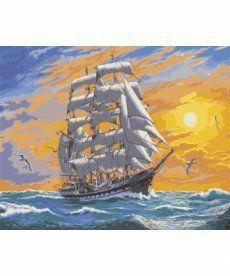 Картина по номерам Хозяин морей 40 х 50 см (KHO2722)