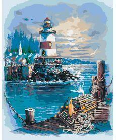 Картина по номерам Тихая гавань 40 х 50 см (KHO2724)