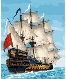 Картина по номерам Королевский флот 40 х 50 см (KHO2729)