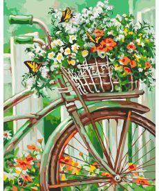 Картина по номерам Цветы Прованса 40 х 50 см (KHO2920)