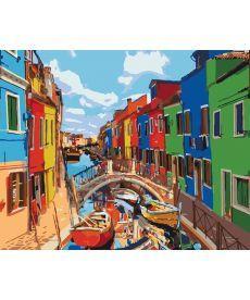 Картина по номерам Яркие краски Венеции 40 х 50 см (KHO3502)