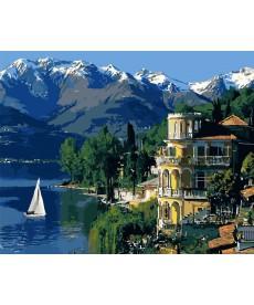 Картина по номерам Вдохновляющая Италия 40 х 50 см (KHO3511)