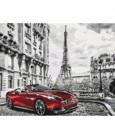 Картина по номерам Глубокий красный 40 х 50 см (KHO3514)