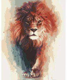 Картина по номерам Король саванны 40 х 50 см (KHO4017)
