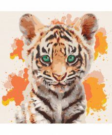 Картина по номерам Тигрюля 40 х 40 см (KHO4070)