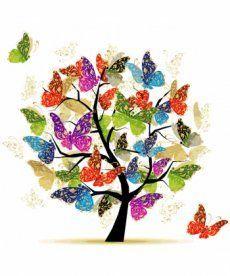 Картина по номерам Дерево надежды 40 х 40 см (KHO5507)