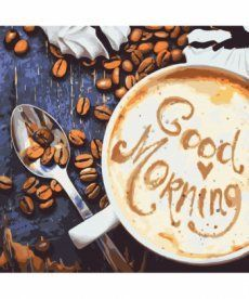 Картина по номерам Good Morning 40 х 40 см (KHO5523)