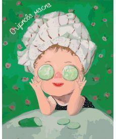 Картина по номерам Огуречная маска Гапчинская 40 х 50 см (KNG012)
