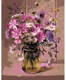 Картина по номерам Нежный букет 40 х 50 см (MR-Q1047)