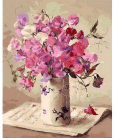 Картина по номерам Музыка цветов 40 х 50 см (MR-Q1062)
