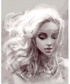 Картина по номерам Девушка из снов 40 х 50 см (MR-Q1098)