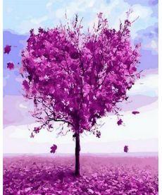 Картина по номерам Дерево любви 40 х 50 см (MR-Q1218)