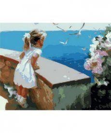 Картина по номерам Ласковое море 40 х 50 см (MR-Q1237)