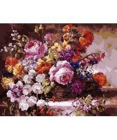 Картина по номерам Роскошный букет 40 х 50 см (MR-Q1363)