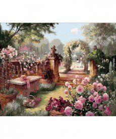 Картина по номерам Райский сад 40 х 50 см (MR-Q1442)