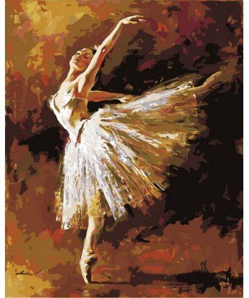 Картина по номерам Искусство танца 40 х 50 см (MR-Q1451)  - Фото 1