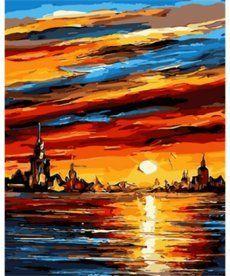 Картина по номерам Чарующий закат 40 х 50 см (MR-Q1689)