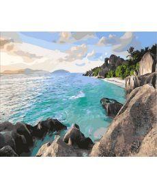Картина по номерам Карибский берег 40 х 50 см (MR-Q1897)