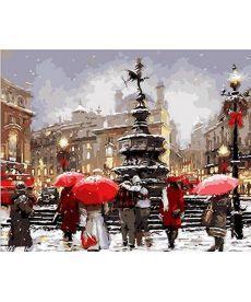 Картина по номерам В ожидании Рождества 40 х 50 см (MR-Q200)