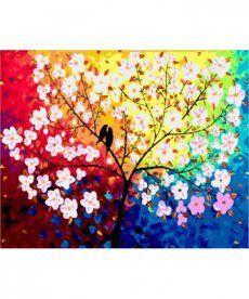 Картина по номерам Дерево любви 40 х 50 см (MR-Q2092)