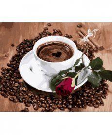 Картина по номерам Приглашение на кофе 40 х 50 см (MR-Q2096)
