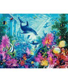 Картина по номерам Водный мир 40 х 50 см (MR-Q2111)