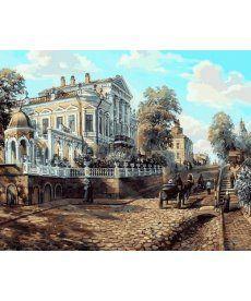 Картина по номерам Пермь. Дом Мешкова, XIX век 40 х 50 см (MR-Q2112)