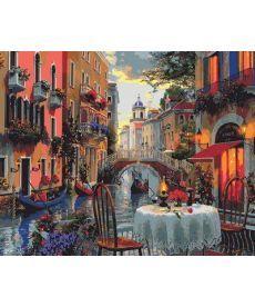 Картина по номерам Вечер полный романтики 40 х 50 см (MR-Q2114)