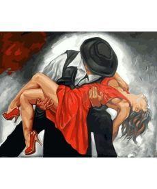 Картина по номерам В вихре танго 40 х 50 см (MR-Q2131)