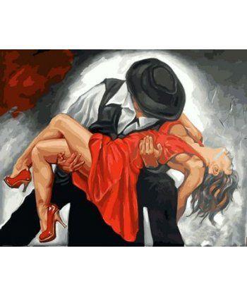 Картина по номерам В вихре танго 40 х 50 см (MR-Q2131)  - Фото 1