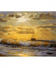 Картина по номерам Море на рассвете 40 х 50 см (MR-Q2136)