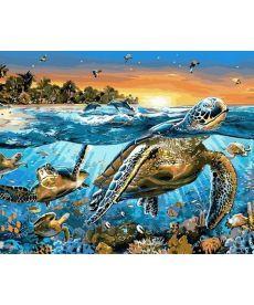 Картина по номерам Карибские острова 40 х 50 см (MR-Q2137)