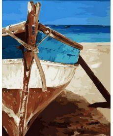 Картина по номерам Идеальный синий 40 х 50 см (MR-Q2140)