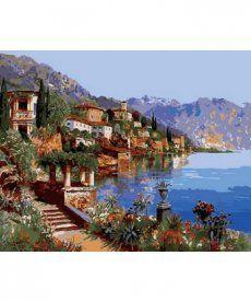 Картина по номерам Теплое море Италии 40 х 50 см (MR-Q2142)