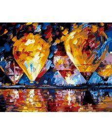 Картина по номерам Воздушные шары 40 х 50 см (MR-Q745)