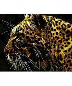 Картина по номерам Хищный взгляд 40 х 50 см (MR-Q780)