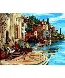 Картина по номерам Уютная терасса 40 х 50 см (MR-Q887)