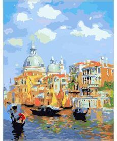 Картина по номерам Лазурь Венеции 40 х 50 см (MS411)