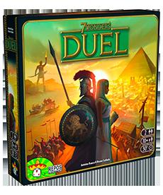 Настольная игра 7 Wonders Duel  (7 Чудес Дуель) (укр.)