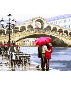 Картина по номерам Отражение Венеции 40 х 50 см (NB769)